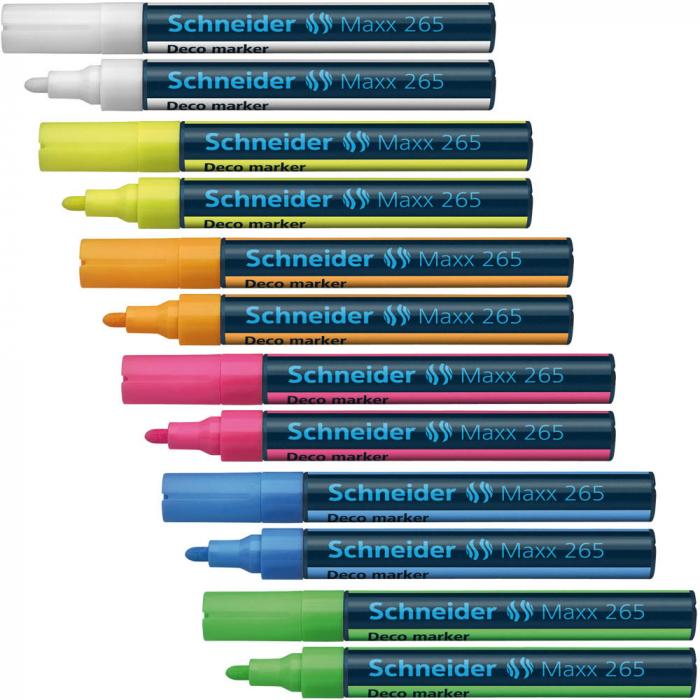 Deco marker tip creta Schneider 265 - varf 1-3mm 4