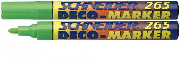 Deco marker tip creta Schneider 265 - varf 1-3mm 1