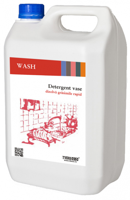 Detergent vase Tiboo plus Wash, 5l [0]