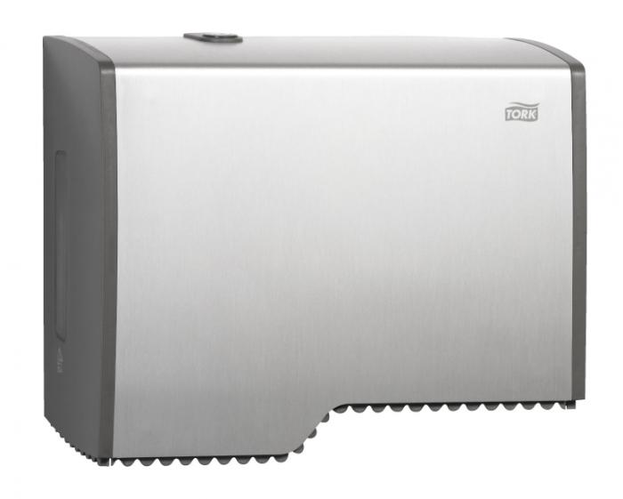 Dispenser hartie igienica Tork Mini Jumbo- aluminiu 0