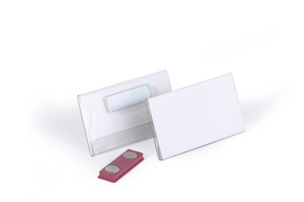 Ecuson Magnetic 40x75 mm (set 25 buc, transparent) 2