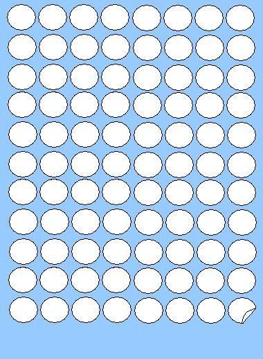 Etichete buline Ø20-Ø40 Markin A4, 100coli/set [1]