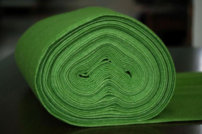 Fetru IDEA  (60% lana, 40% viscoza) 50cm x 140 cm latime- camp de primavara [0]
