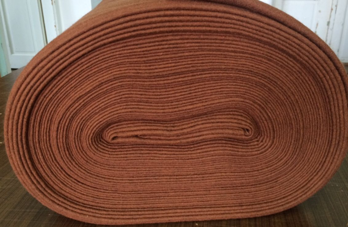 Fertu IDEA (60% lana, 40% viscoza) 50cm x 140 cm latime- castaniu 0
