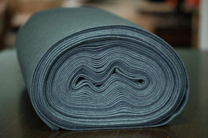 Fetru IDEA  (60% lana, 40% viscoza) 50cm x 140 cm latime- gri delfin [0]