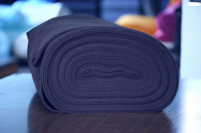 Fetru IDEA (60% lana, 40% viscoza) 50cm x 140 cm latime- indigo [0]