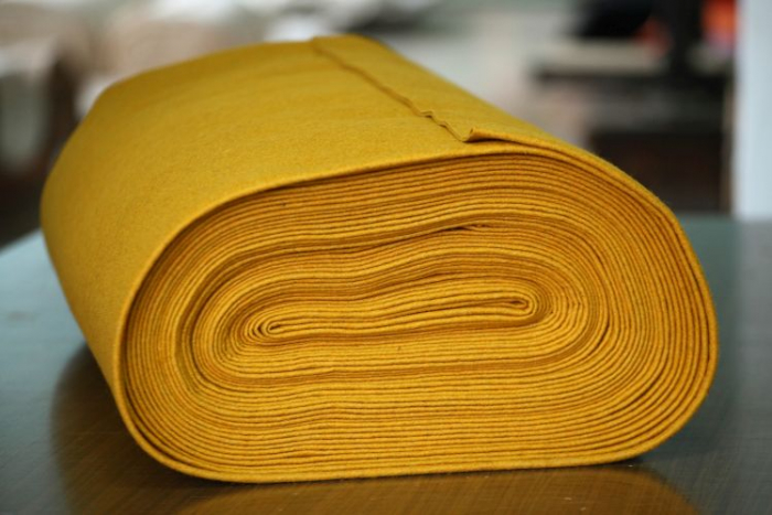 Fetru IDEA (60% lana, 40% viscoza) 50cm x 140 cm latime- ocru [0]