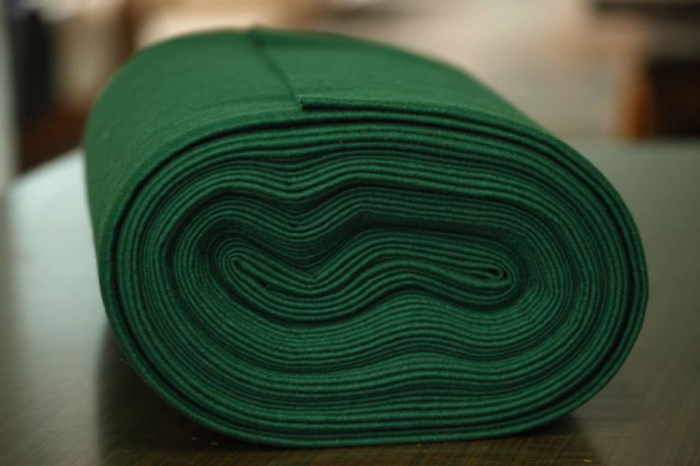 Fertu IDEA (60% lana, 40% viscoza) 50cm x 140 cm latime- verde brad 0