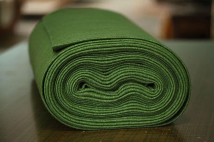Fertu IDEA (60% lana, 40% viscoza) 50cm x 140 cm latime- verde khaki 0