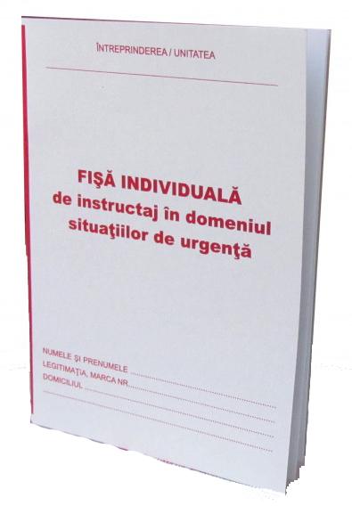 Fisa individuala de instructaj in domeniul situatiilor de urgenta A5 [0]
