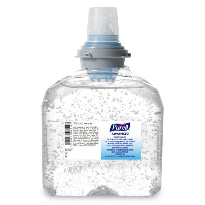 Gel dezinfectant 1200ml TFX Purell pt dozator senzor 0