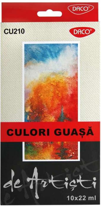 Guasa Artist Daco, 10 culori, 22ml 0