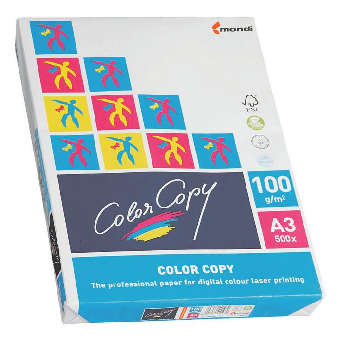 Hartie copiator 90-250gr A3 Color Copy Mondi 0