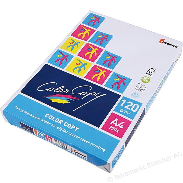Hartie copiator 90-250gr A4 Color Copy Mondi 0