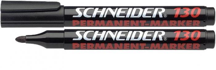 Marker Permanent SCHNEIDER 130 - varf 1-3mm rotund 2