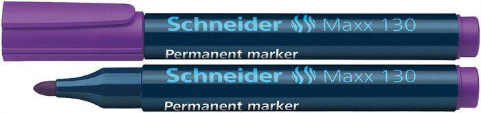Marker Permanent SCHNEIDER 130 - varf 1-3mm rotund 0