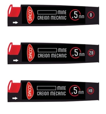 Mina creion mecanic 0.5mm Daco [0]