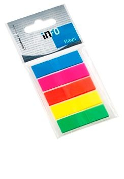 PageMarker InfoFlags 5x12.5x43, 5x26f FLUO [0]