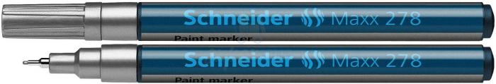 Paint marker Schneider 278 - varf 0.8mm - auriu argintiu si diverse culori 0