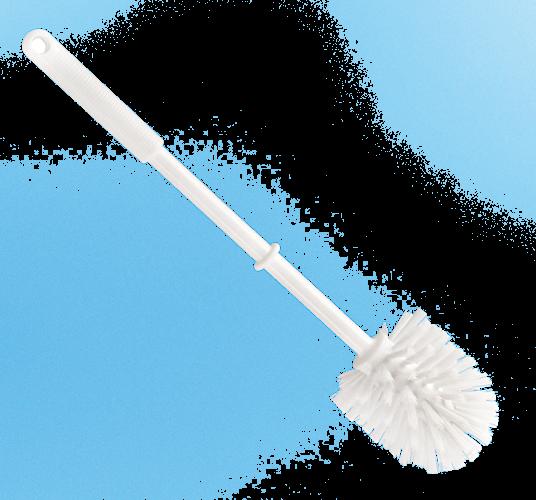Perie WC, alb, polipropilena [0]