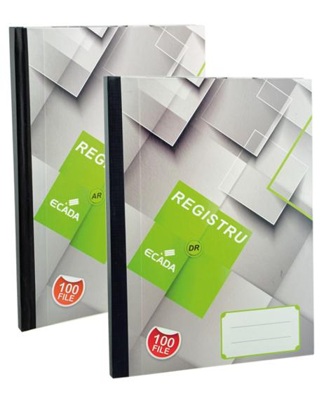 Registru cartonat A4 100 file [0]