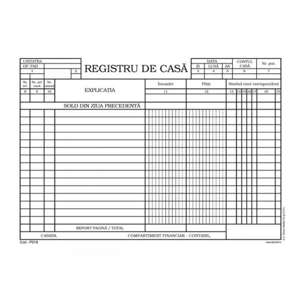 Registru de casa A4 [0]