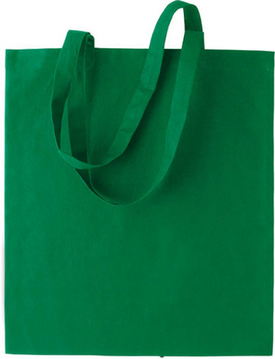 Sacosa cumparaturi din bumbac 34*41-verde [0]