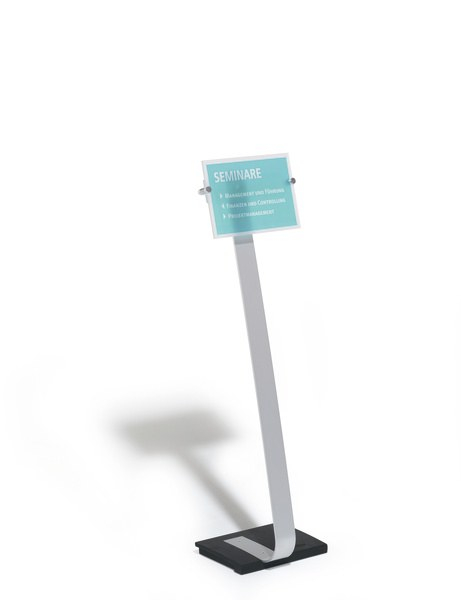 Stand CRYSTAL SIGN silver A4 [2]