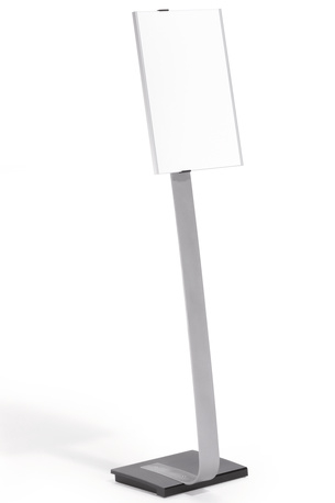 Stand INFO SIGN silver A3 [1]