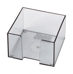 Suport pt. cub hartie 9x9 plastic transparent [0]