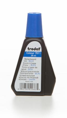 Tus TRODAT 7011  28ml - albastru [0]