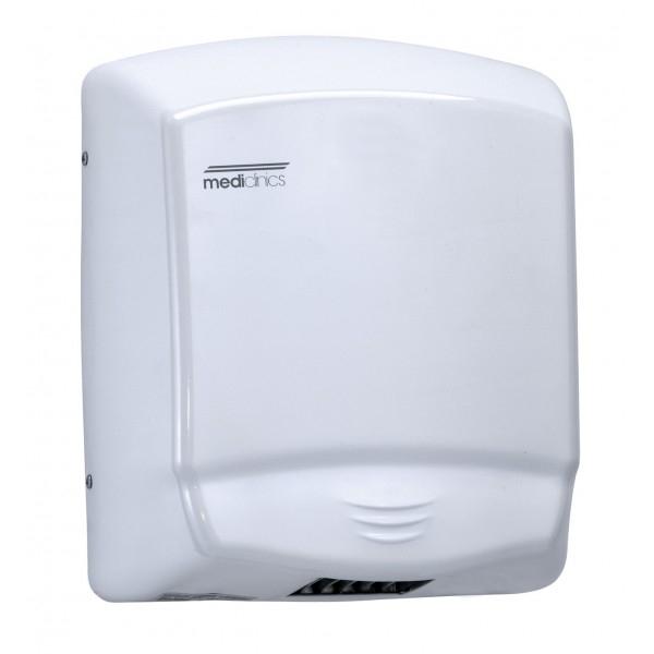 Uscator de maini OPTIMA, otel vopsit alb, actionare cu senzor [0]