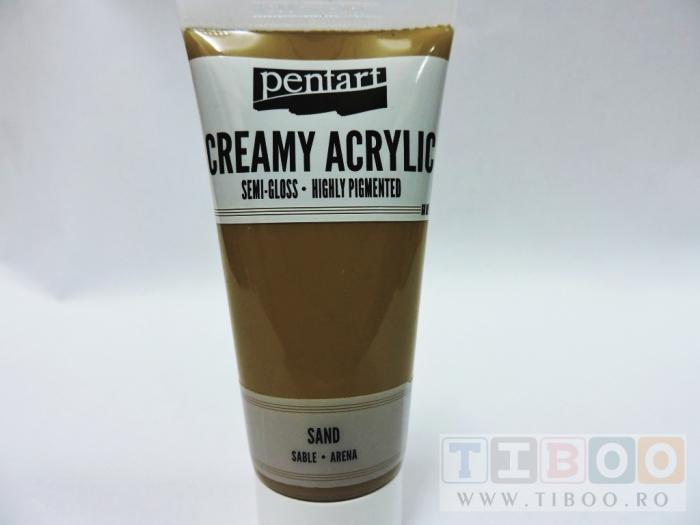 Vopsea acrilica cremoasa 60 ml- sand [0]