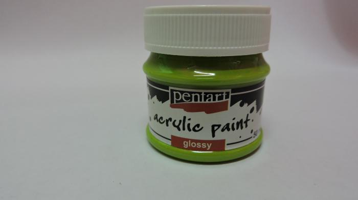 Vopsea acrilica lucioasa 50 ml- verde mar 0