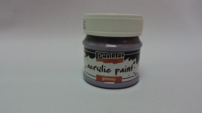 Vopsea acrilica lucioasa 50 ml- violet deschis [0]