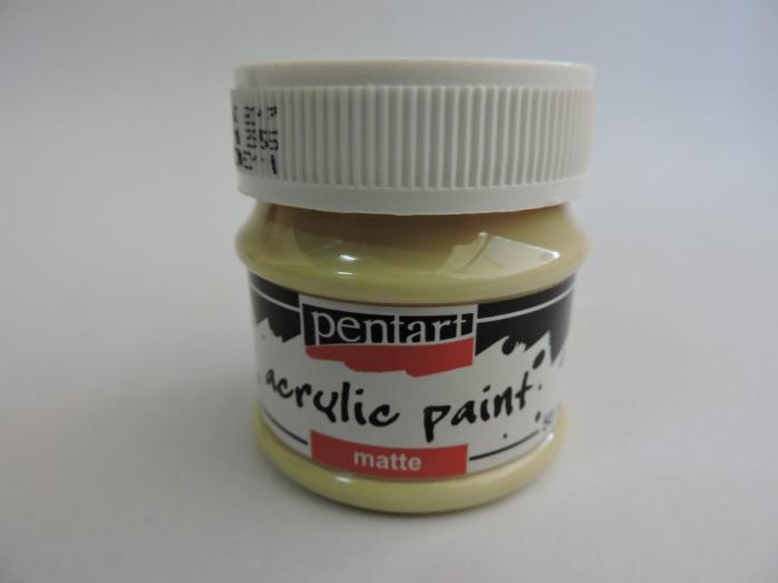 Vopsea acrilica mata 50 ml- cacao cu lapte [0]