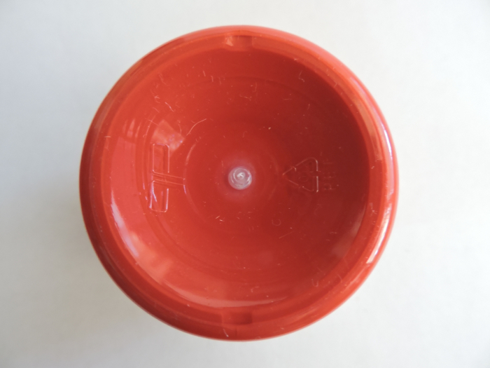 Vopsea acrilica mata 50 ml- rosu [1]