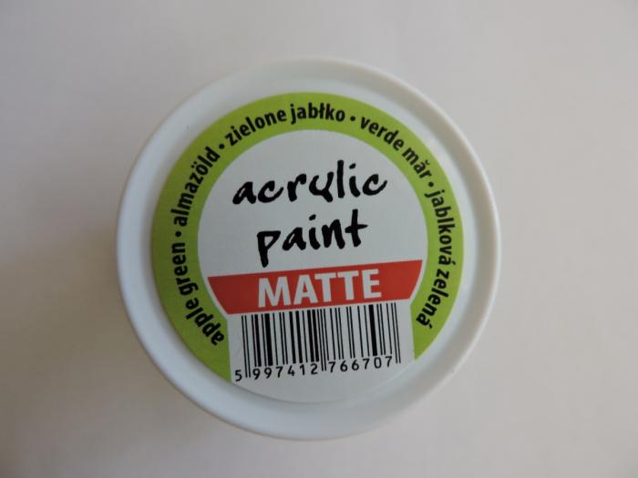 Vopsea acrilica mata 50 ml- verde mar [2]
