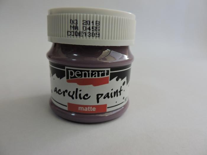 Vopsea acrilica mata 50 ml- violet [0]