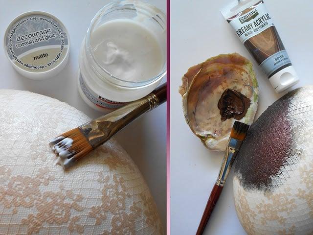 Vopsea acrilica metalizata, cremoasa 60 ml- turcoaz 2