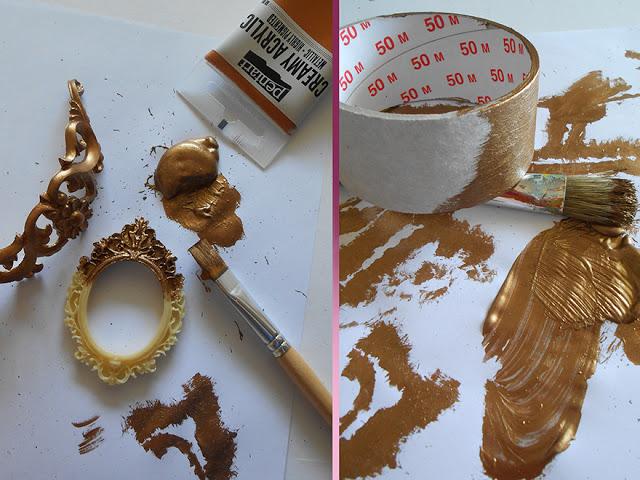Vopsea acrilica metalizata, cremoasa 60 mll-bronz [1]