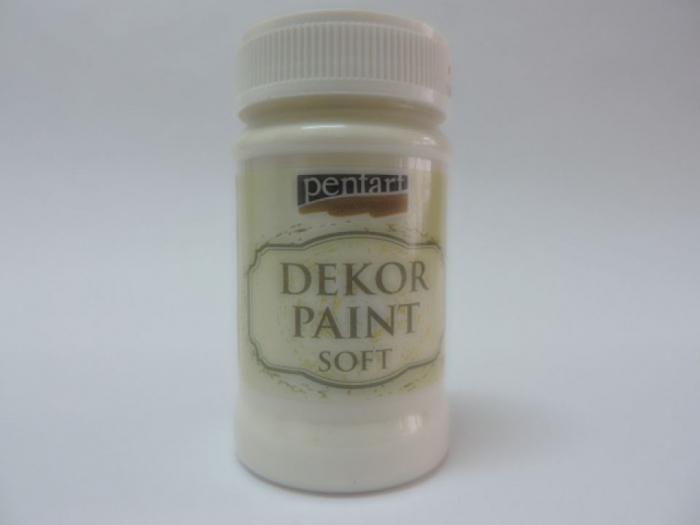 Vopsea decorativa Soft 100 ml- alb crem [0]