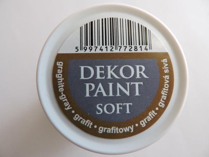 Vopsea decorativa Soft 100 ml- grafit [2]