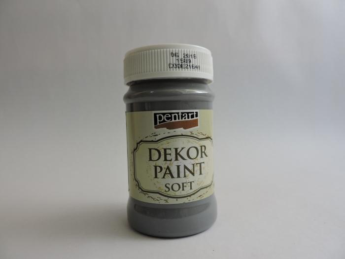 Vopsea decorativa Soft 100 ml- grafit [0]