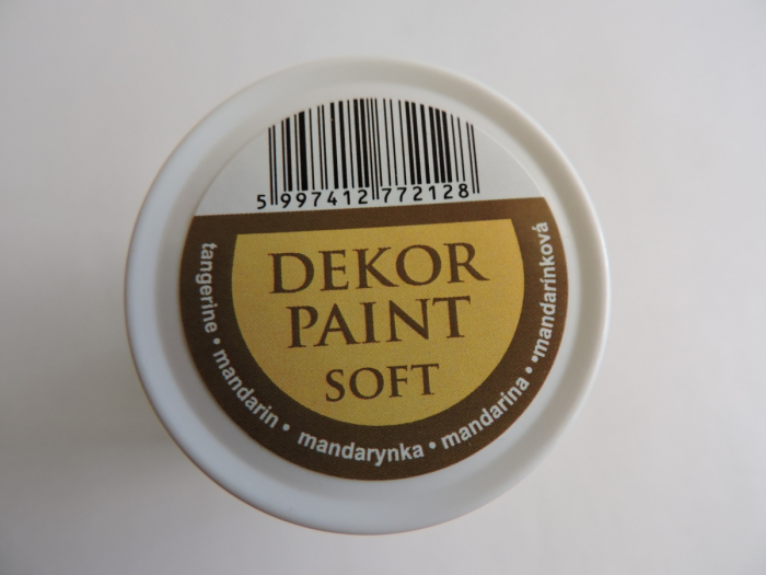 Vopsea decorativa Soft 100 ml- mandarina [2]