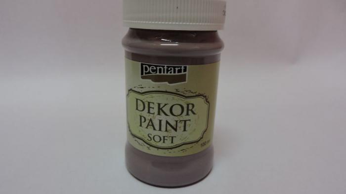Vopsea decorativa Soft 100 ml- violet country 0
