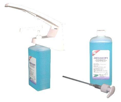 ZHIVASEPT 1L, dezinfectant rapid de maini pe baza de alcooli 0