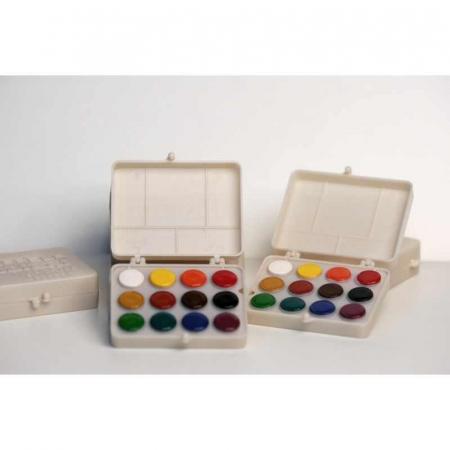 Acuarele 12 culori Colibri -Fondul Plastic [0]