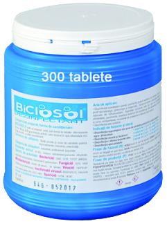 Biclosol tablete clor efervescente, 300tab/cut [0]