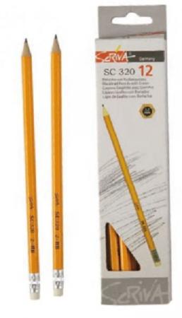 Creion cu guma Scriva2